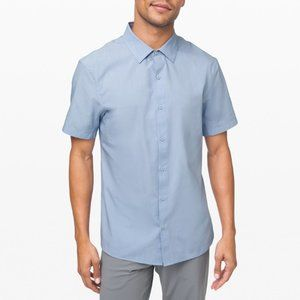 Lululemon Down to the Wire Dress Shirt L